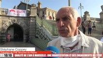 Qualité de l'air à Marseille : une manifestation et des engagements de l'État