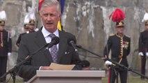 Le roi Philippe commémore la libération du fort de Breendonk