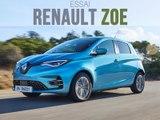 Essai Renault Zoe R135 Intens 2019