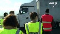 Zollkontrollen am Eurotunnel in Calais: Proben für den harten Brexit