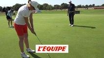 Performer au putting - Golf - Enseignement