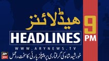 ARYNews Headlines |People's Party reacts strongly on Khursheed Shah's arrest| 9PM | 18 SEPT 2019