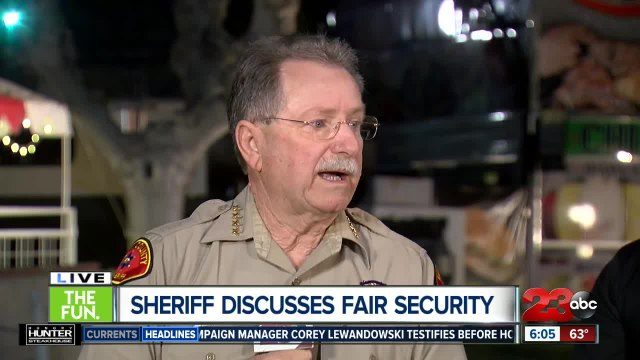 Sheriff Youngblood discusses fair safety