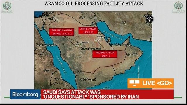 Saudi Arabia Says Iran Is Responsible for Oil Attacks