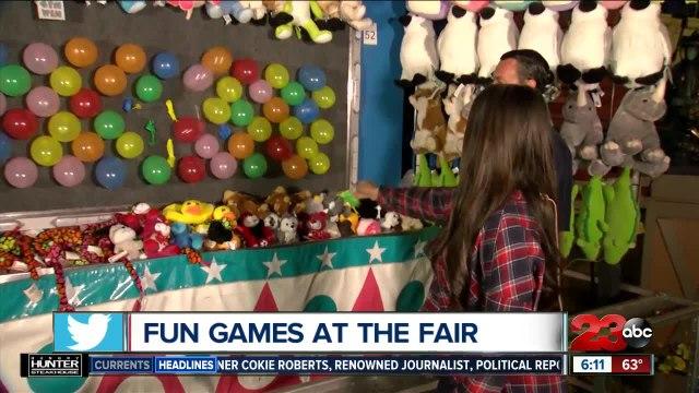 Fun games at the Kern County Fair