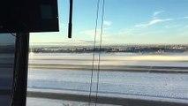 Un avion de chasse crée des Vortex de glace au décollage en Alaska !