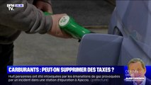 Carburants: peut-on supprimer des taxes ?