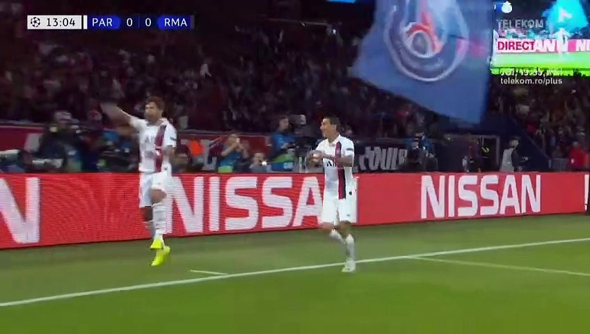 Résumé PSG-Real Madrid But Di Maria 1-0