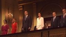 Los Reyes acuden a la apertura de temporada del Teatro Real