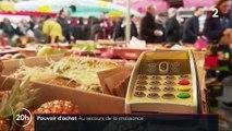 Croissance : le pouvoir d'achat des Français dope la hausse