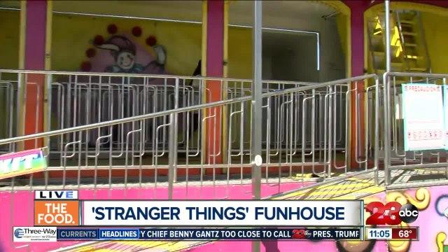 'Stranger Things' Funhouse at Kern County Fair