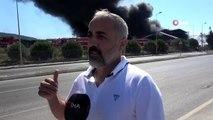 Tuzla'daki yangında vatandaş olay anını anlattı