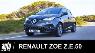 Renault ZOE ZE 50 2019 ESSAI Auto-Moto.com