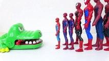 Hulk, Iron Man, Spider