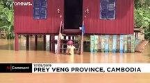 Kambodscha: Schwere Überschwemmungen mit 11 Toten