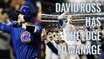 David Ross is flattered at the rumors to manage the Chicago Cubs