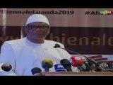 ORTM/Discours du Président, Ibrahim Boubacar KEITA à l'ouverture de la Biennale de Luanda
