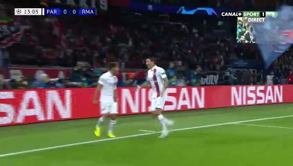 LDC - Paris SG  3 - 0 Real Madrid
