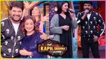 Krushna Abhishek aka Sapna FUN MASTI With Sunidhi Chauhan Divya Duttta   The Kapil Sharma Show