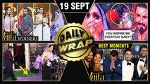 Ranveer Kisses Deepika, Salman Alia REACT On Inshallah, IIFA 2019 Green Carpet   Top 10 News