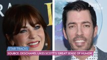 Zooey Deschanel and Jonathan Scott 'Bonded Over Music,' Says Source: 'She's Really Happy'