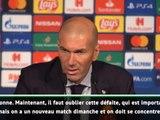 """Groupe A - Zidane : """"C'est la faute de tout le monde"""""""