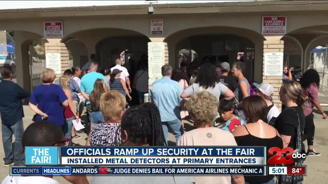 Kern County Fair: officials ramping up security