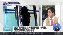"""""""조국 처남, 코링크에서 매달 800만 원 수령"""""""