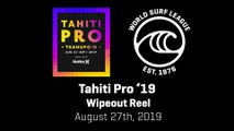 The Wipeouts at the 2019 Tahiti Pro Teahupo'o Have Been Spectacular