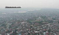 Kabut Asap Melanda Lhokseumawe, Jarak Pandang di Bandara Berkurang