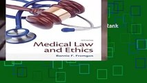 Medical Law and Ethics  Best Sellers Rank : #1