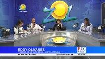 Eddy Olivares las encuestas de Leonel lo dan favorito y encuestas de Luis Abinader, favorito Luis