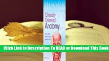Online Clinically Oriented Anatomy  For Online