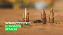 Constructores de la paz: El escultor de balas