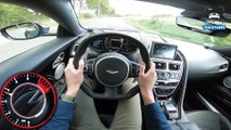 Aston Martin DBS Superleggera 725HP 5.2 V12 BiTurbo POV Test Drive by AutoTopNL