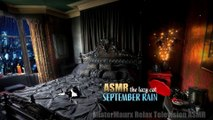 September Rain • The Lazy Cat #ASMR #Cozybedroom