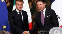 Macron in Italien: Forderung nach besserer Migrationspolitik