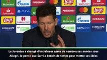 """Diego Simeone : """"La Juventus peut gagner la Ligue des Champions"""""""