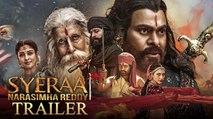 Sye Raa Trailer Reaction - Chiranjeevi,Nayanatara   Ram Charan   Surender Reddy