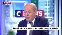 L'interview de Jean-Yves Le Drian