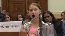 Greta Thunberg sendet klare Botschaft an US-Kongress