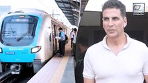 Akshay Kumar Takes Crowded Metro Ride And Nobody Recognises Him