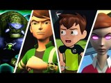 Ben 10 Full Movie Compilation (All Cutscenes from All Games)