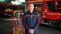 """Agressé par un homme au cours d'une intervention, un pompier témoigne: """"Il m'a mis un coup de boule à la pommette"""" - VIDEO"""