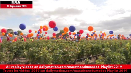 Replay Marathon du Médoc  2019-Ambiance sur la parcours 13 / runners atmosphere on the way 13