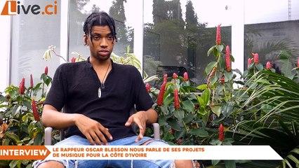 Interview : Oscar Blesson nous parle de ses projets de musique pour la Côte d'Ivoire