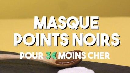 30-Masque points noirs