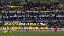 Homophobie dans les stades : retour sur la polémique des interruptions de matchs
