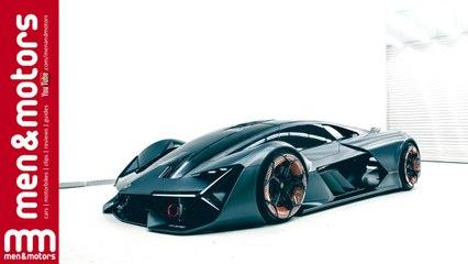 The Lamborghini Terzo Millennio is a Self-Healing Electric Supercar