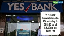 YES Bank ends over 15% in the red after CARE downgrades NCDs of promoter Morgan Credits